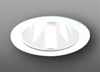 "Elco Lighting 4"" Line Voltage Trim with Reflector-White"