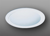 "Elco Lighting 5"" Line Voltage Trim with Specular Reflector-All White"