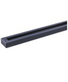 Elco Lighting 6' Track with Dead End-Black