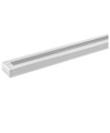 Elco Lighting 8' Track with Dead End-Brushed Nickel
