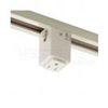 Elco Lighting Track Outlet Adapter-White