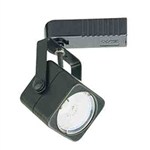 Elco Lighting Low Voltage Electronic Soft Square Track Fixture-Black