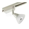 Elco Low Voltage Electronic High Tech Glass Shade Track Fixture-All White