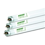 Howard Lighting - 4 Ft 32W T8 High Lumen Long Life - 3025 Lumens - 84 CRI - 5000K - Case of 25 - F32T8/850/HL/ECO/LL