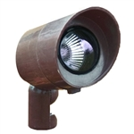Dabmar FG132-BZ Fiberglass Directional Spot Light with Hood Bronze