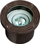 Dabmar FG316-MR Fiberglass In-Ground Well Light Bronze