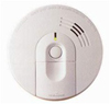 120V Hardwired Ionization Smoke Alarm with Battery Back-up and Quick Quiet