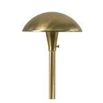 "Focus Lighting 12V 18W 8"" Large Mushroom Hat Area Light-Bronze Texture"