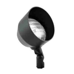 "Focus Lighting 12V 36W 5"" Bullet Directional Light-Black Texture"