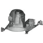 120V 13W ALum Fluorescent Floodlight w-High-Impact Clear Lens-Black Texture