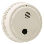 120VAC-9VDC Photoelectric Smoke Alarm-A-C Contacts and Solid State Sounder