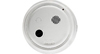 Gentex 120VAC Photoelectric Smoke Alarm with Battery Backup-Temporal Sounder