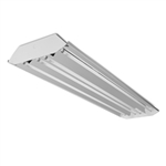Howard Lighting - Highbay Linear Fluorescent - Curved Profile - 4 Lamp F54T5HO - 95% Reflector - Program Rapid Start Multi-volt Ballast - HFB3E454APSMV000000I
