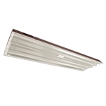 Howard Lighting - Highbay Linear Fluorescent - Low Profile - 6 Lamp F54T5HO - 86% Reflector - Program Rapid Start Multi-volt Ballast - HFLPA654APSMV000000I