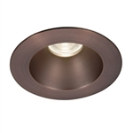 "WAC Lighting - 3.5"" Tesla High Output LED Downlight Trim - Round - Up to 945 Lumens - HR-3LED-T118"