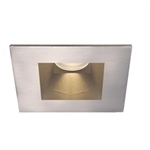 "WAC Lighting - 3.5"" Tesla High Output LED Downlight Trim - Square - Up to 870 Lumens - HR-3LED-T718"