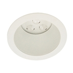"WAC Lighting - 4"" LEDme Invisible Open Reflector Downlight Trim - Round - Up to 1003 Lumens - HR-LED411TL"