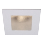 "WAC Lighting - 4"" LEDme Open Reflector Downlight Trim - Square - Up to 1003 Lumens - HR-LED451"