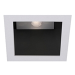 "WAC Lighting - 4"" LEDme Invisible Open Reflector Downlight Trim - Square - Up to 1003 Lumens - HR-LED451TL"