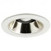 "Halo 4"" Low Voltage Trim-White with Champagne Gold Reflector"