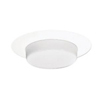 "Halo 6"" Drop Opal Trim with Reflector Shower Light"