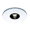 "Halo 3"" Low Voltage Pinhole Trim-White with Adjustable Clear Reflector"