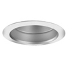 "Halo 6"" Line Voltage Trim with Self Flanged Haze Reflector-White"