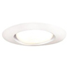 "Halo 6"" Line Voltage Open Trim for R Lamps-White"