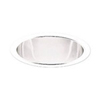 "Halo 6"" Compact Flourecent Trim with Clear Full Reflector- White"