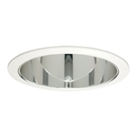 "Halo 6"" Compact Fluorescent Trim with Clear Specular Reflector -White"