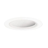 "Halo 6"" Line Voltage Slope Ceiling Trim and Baffle Reflector-White"