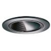 "Halo 4"" Line Voltage Trim and Scoop with Black Baffle-Tuscan Bronze"