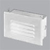 Halo Louvered Trim Step Light