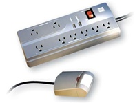 Watt Stopper IDP3050A 8 Outlet Power Strip with Personal Sensor