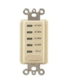 Intermatic 10-20-30-60 Min. Electronic Auto Shutoff Timer-Ivory