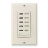 Intermatic 10-20-30-60 Min. Electronic Auto Shutoff Timer-Light Almond