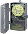 120V 1.5HP DPST Sprinkler and Irrigation Mechanical Timer with 14-Day Skipper