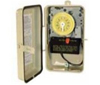 Intermatic 120V Mechanical Pool Timer with Heater Cutoff Switch in Plastic Case