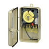 Intermatic 120-240V Mechanical Timer with Heater Protection in Metal Enclosure