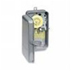 Intermatic 208-277V 24 Hour Mechanical Time Switch with NEMA 3R Metal Case