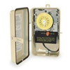 208-277V 24-Hr DPST 2-Circuit Mechanical Timer with Steel NEMA 3R Case