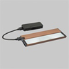 "13"" 2-Light All-In-One-Modular Xenon Under Cabinet Lighting Kit-Brushed Bronze"