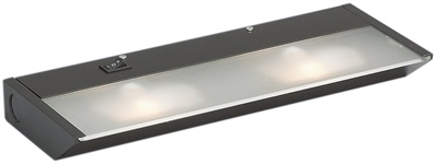 Kichler 12012 Functional Two Light Under Cabinet Light from the XCL Under Cabinet Collection