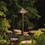 Kichler 15401 Thatched Roof 20W Low Voltage Path & Spread Light