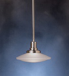 Kichler 1-Light Structures Mini-Pendant-Brushed Nickel