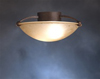 "Kichler 15"" Semi-Flush Ceiling Light-Tannery Bronze"
