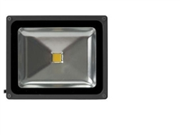 50 Watt - LED - Waterproof Flood Light Fixture Soft White - Operates at 85 to 265 Volts - 100 Degree Beam Angle - Grey Housing