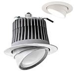 Cree LE6C - Dimmable LED Downlight Module - 12 Watt - 500 Lumens - 3500K Halogen White - Adjustable - Fits 6 in. Can Fixtures - Medium Base