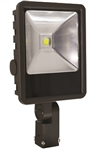 Westgate Mfg LF-100W-SF LED FLOOD LIGHT WITH 2 SLIP-FITTER