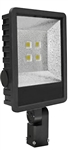 Westgate Mfg LF-120W-SF LED FLOOD LIGHT WITH 2 SLIP-FITTER